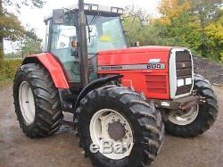 Massey Ferguson 8130 4X4 Tractor