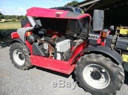 Massey Ferguson 8925 teleporter, telehandler, rough terrain forklift 4WD, AWS