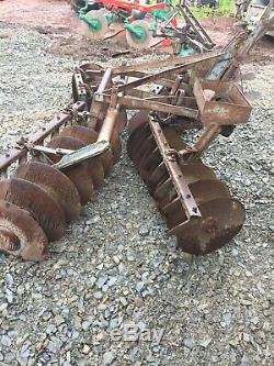 Massey Ferguson Fergie MF discs harrow cultivator Plough