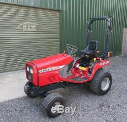 Massey Ferguson GC2300 Compact tractor, 356 hrs