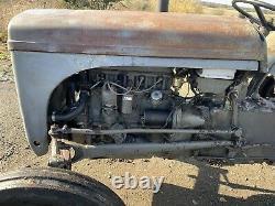 Massey Ferguson Grey t20 TED petrol/TVO Vintage Tractor