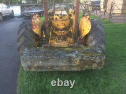 Massey Ferguson Industrial 203 loader tractor