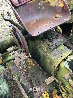 Massey Ferguson Industrial 702 tractor, rare model
