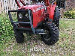 Massey Ferguson MF1533 33hp 4wd compact tractor with loader, low hours NO VAT V5