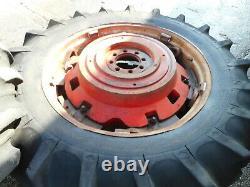 Massey Ferguson MF188,590,595,698,699 16.9 x 38 PAVT Rims/Tyres S/R NVC735E
