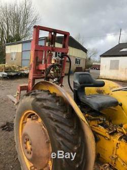 Massey Ferguson MF20 Industrial Tractor