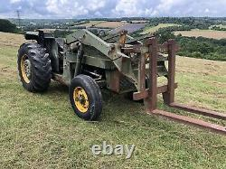 Massey Ferguson MF40 2WD Tractor 42HP with Front Loader Perkins Engine. Mod Spec