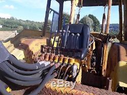 Massey Ferguson MF50 Tractor Digger Back Hoe Loader