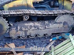 Massey Ferguson MF 200B Crawler Loader Tractor 4 in 1 Bucket Digger Back Actor