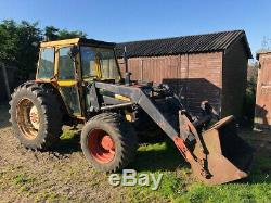 Massey Ferguson MF 20E 4WD Tractor With MF 80 Loader VERY RARE NO VAT