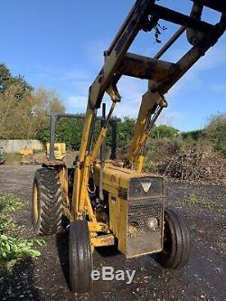 Massey Ferguson MF 50c Tractor 3165 Industrial 165 Loader Loading Shovel