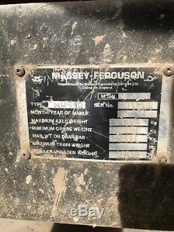 Massey Ferguson (Marston) 10t silage /grain trailer X2