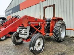 Massey Ferguson Massey MF 135 Tractor with Loader, VGC used £6500 no vat