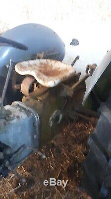 Massey Ferguson Petrol TVO Grey Fergie Vintage Tractor Good Working Order
