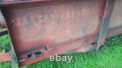 Massey Ferguson Rear Discharge Muck spreader Lovely Condition Rare