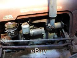 Massey Ferguson T35 Tractor 4 cylinder Diesel