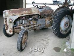 Massey Ferguson TEA grey fergy 1948