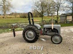 Massey Ferguson TEF20 Diesel Grey Fergie Tractor Complete & Hole Borer