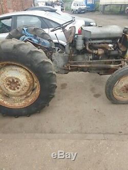 Massey Ferguson Tef20 Grey Tractor