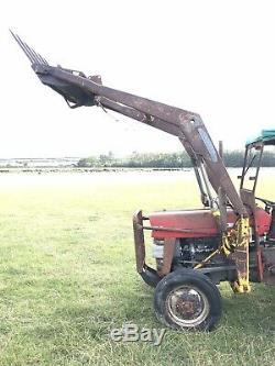 Massey Ferguson Tractor 135 Front Loader Weight & Muck Fork