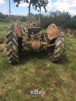 Massey Ferguson Tractor 35 FE35 4 cylinder Diesel 1957 With V5 Logbook MF35