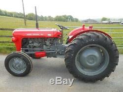 Massey Ferguson Tractor, Massey Ferguson 35, Massey 35, FE 35, Massey Ferguson