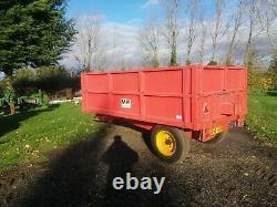 Massey Ferguson/ Weeks 3.5 tonne grain trailer