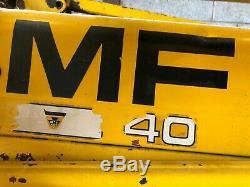 Massey Ferguson digger MF40