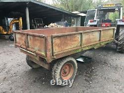 Massey Ferguson farm tipping trailer