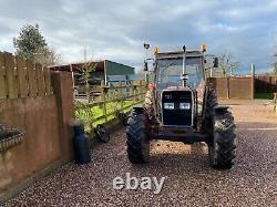 Massey Ferguson tractor 390 and power loader