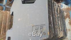 Massey Ferguson tractor 45kg front weights x8 black clip type