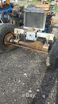 Massey ferguson 130 tractor 4wd project spares or repairs
