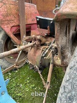 Massey ferguson 135 multipower useable condition, part restored