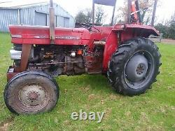 Massey ferguson 135 one owner before me low hours and power steering