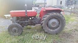 Massey ferguson 135 tractor. ONLY 1600 HOURS! With V5 1971