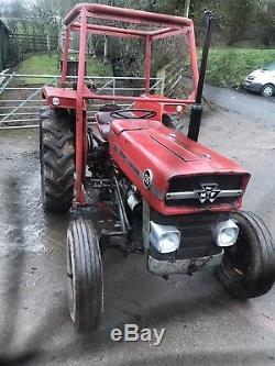 Massey ferguson 135 tractor / Trailer / Logging / Forestry