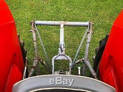 Massey ferguson 165 F reg 203 engine barn find