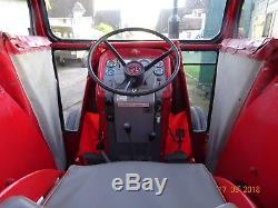 Massey ferguson 165 tractor and flexi cab