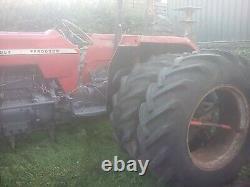 Massey ferguson 165 tractor multi power Perkins 4 cylinder diesel direct injecti
