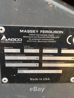 Massey ferguson 2160 square baler