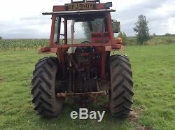 Massey ferguson 265 tractor and MF Loader