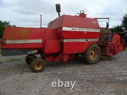 Massey ferguson 307 combine harvester, good working order