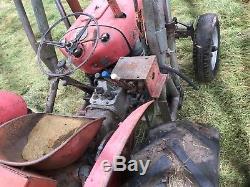 Massey ferguson 35/ 3 cylinder / tractor /trailer