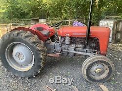 Massey ferguson 35 4 cylinder tractor