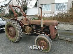 Massey ferguson 35 4cyl tractor