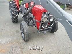 Massey ferguson 35 tractor 4 cylinder diesel good starter