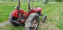 Massey ferguson 35 tractor v5 log book (62) year orignal condition GWO