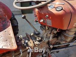 Massey ferguson 35x tractor with multi power