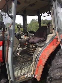 Massey ferguson 4345 loader tractor
