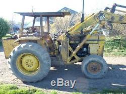 Massey ferguson 50 industrial loader tractor